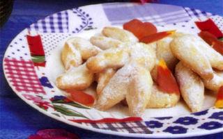Праздничное песочное печенье