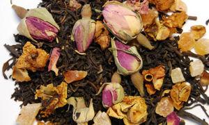 Розовый ароматизированный чай