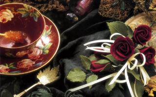 Букетик глазированных роз