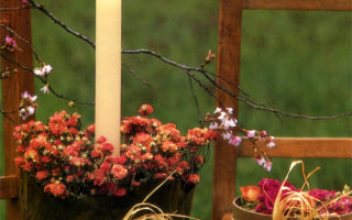 Весенний подсвечник