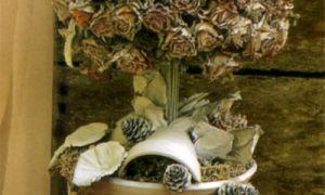 Дерево сухих роз
