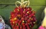Ароматический шарик из розовых бутонов и кардамона