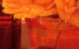 Тонизирующий напиток из лепестков роз