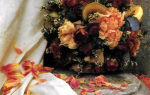 Ароматический шарик из сухих роз
