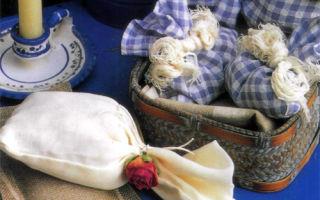 Саше с ароматом роз и лаванды