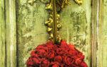 Ароматический шарик из роз и гвоздики