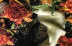 Венок из сухих цветов